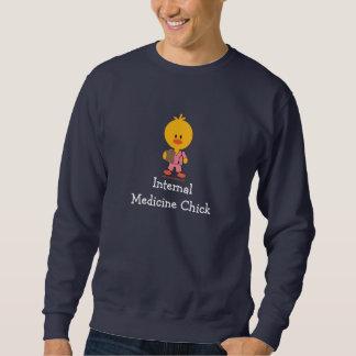 El rosa del polluelo de la medicina interna friega jersey