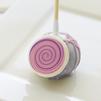 El rosa/el remolino de color de malva con el >Cake