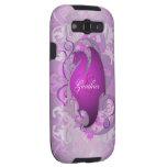 El rosa elegante Samsung del dragón de la fantasía Galaxy S3 Fundas