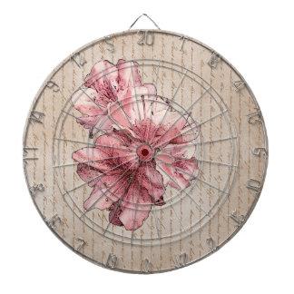 El rosa envejecido de la letra ilustró nombre del