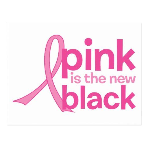 El rosa es el nuevo negro postales