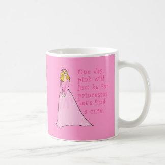 El rosa está para los productos del cáncer de las taza