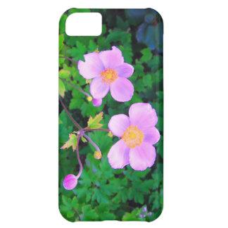 el rosa florece la caja del iPhone 5 Funda Para iPhone 5C