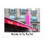 El rosa grande - París Postales
