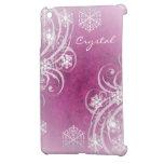 El rosa heló caja de Ipad del invierno de los Flou iPad Mini Cobertura