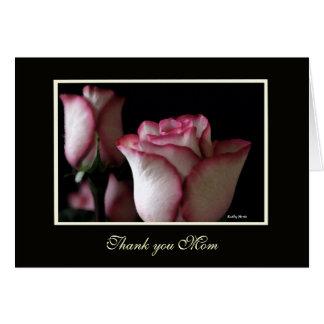 El rosa le agradece las tarjetas de la mamá