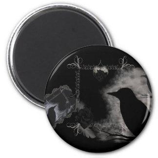 El rosa negro Ravens el imán