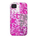 el rosa no es un color su una actitud iPhone 4/4S fundas