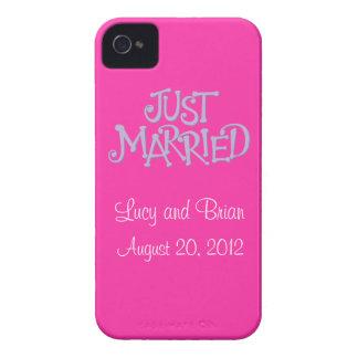 El rosa personalizado acaba de casar la caja del iPhone 4 Case-Mate cárcasa