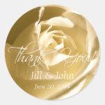 El rosa poner crema le agradece los pegatinas del pegatina redonda