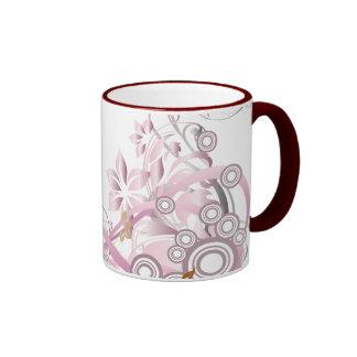El rosa prosperó la taza de las flores - 1