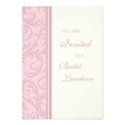 El rosa remolina las tarjetas nupciales de la invi comunicado