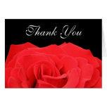 El rosa rojo y el negro le agradecen tarjetas