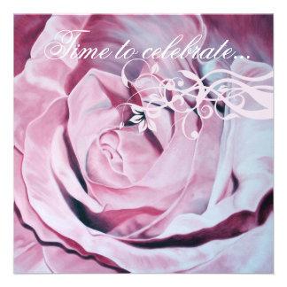 El rosa rosado elegante celebra a Bachelorette que