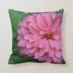 El rosa se ruboriza refinamiento almohada