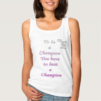 el rosa sea camisetas sin mangas del campeón