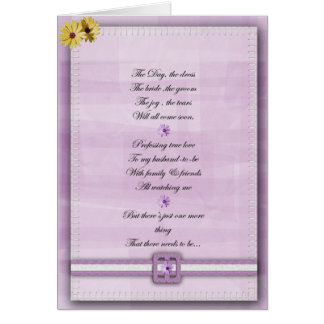 El rosa y el blanco sean mi tarjeta del bridemaid