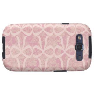 El ~ rosado que va Samsung llama por teléfono al c Samsung Galaxy S3 Carcasas