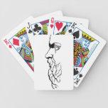 El rostro de Sócrates Baraja Cartas De Poker