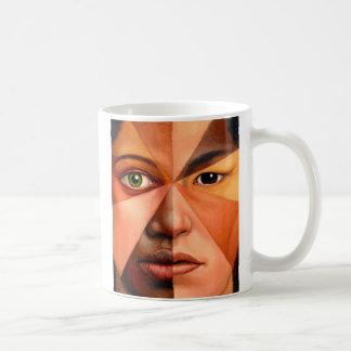 El rostro humano taza