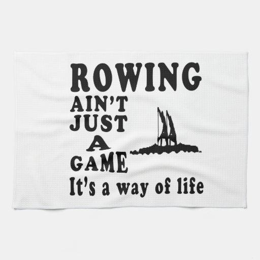 El Rowing no es apenas un juego que es una manera  Toallas