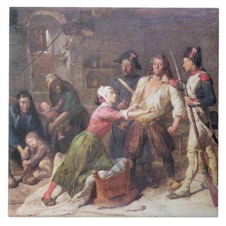 El Royalist, c.1789 Azulejo Cuadrado Grande