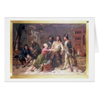 El Royalist, c.1789 Tarjeta De Felicitación