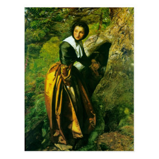 El Royalist de John Everett Millais Postales