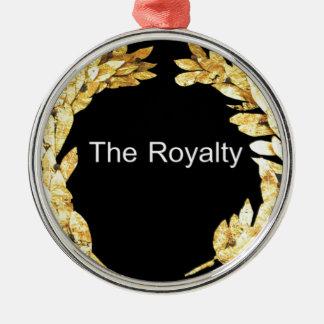 El Royalty.png Adorno Navideño Redondo De Metal