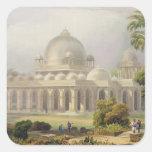 El Roza en Mehmoodabad en Guzerat, o la tumba de Pegatina Cuadrada