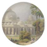 El Roza en Mehmoodabad en Guzerat, o la tumba de Platos Para Fiestas