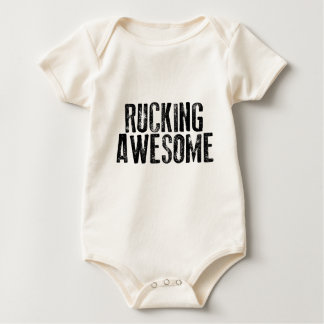 El Rucking impresionante Mamelucos De Bebé