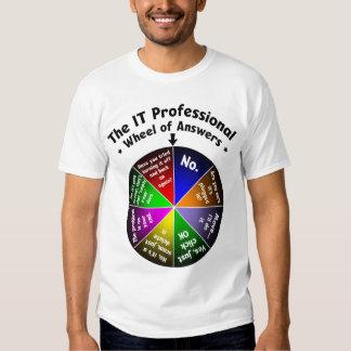 ÉL rueda del profesional de respuestas Polera