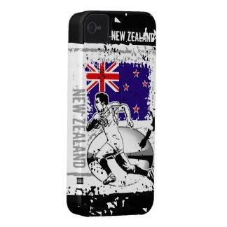 El rugbi Nueva Zelanda posee el caso de la identif iPhone 4 Protector