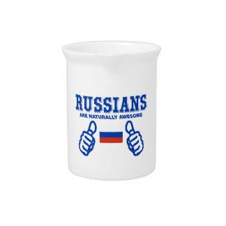 El ruso es naturalmente impresionante jarrón