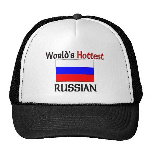 El ruso más caliente del mundo gorro