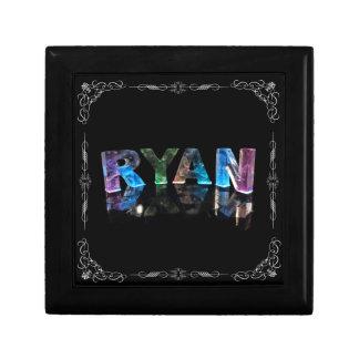 El Ryan conocido en 3D se enciende (la fotografía) Joyero Cuadrado Pequeño
