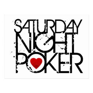 El sábado por la noche póker postal