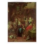 El Sabat de las brujas, 1606 Tarjetas