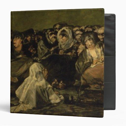 """El Sabat de las brujas Carpeta 1 1/2"""""""
