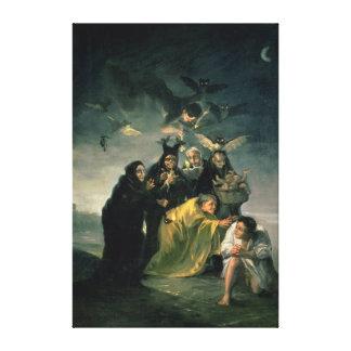 El Sabat de las brujas Impresión En Lona