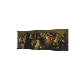 El Sabat de las brujas Impresiones En Lona