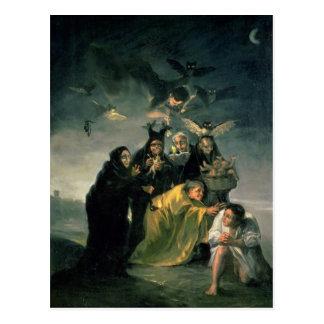 El Sabat de las brujas Tarjetas Postales