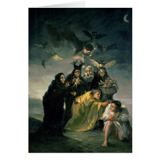 El Sabat de las brujas Tarjeton