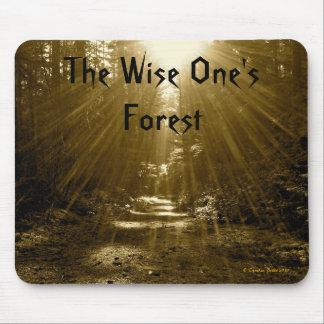 El sabio su bosque alfombrillas de ratón