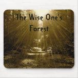 El sabio su bosque tapete de ratón