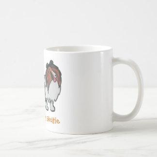 El Sable de risa Sheltie Taza De Café