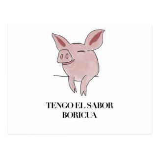 EL Sabor Boricua. de Tengo Postales