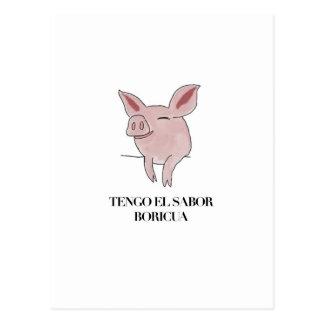 EL Sabor Boricua. de Tengo Tarjetas Postales