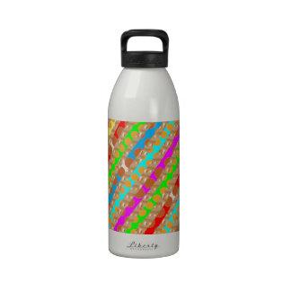 El sacador de papel pela ARTE del REMIENDO de Navi Botellas De Agua Reutilizables